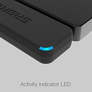 Adaptador Sabrent USB 3.0 a de disco duro  SATA SSD/2.5 pulgadas, optimizado para soportar SSD  UASP SATA III]
