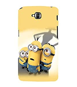 printtech Minions Back Case Cover for LG GPro Lite::LG G Pro Lite Dual D686