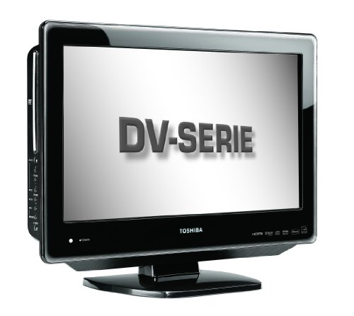 Toshiba 22DV665DB 22-inch Widescreen HD Ready LCD/DVD Combi with Freeview - Black