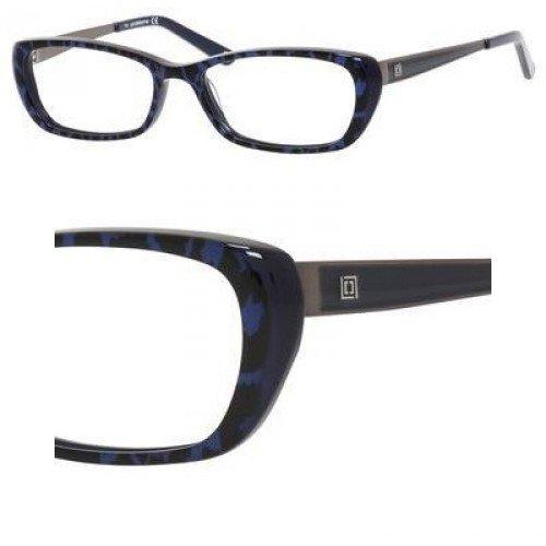 LIZ CLAIBORNE Eyeglasses 600 0ED7 Sapphire Leopard