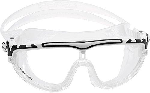 Cressi Swim Skylight Unisex Schwimmbrille mit Antibeschlag und 100% UV Schutz - Made in Italy
