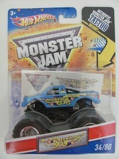2011 Hot Wheels Monster Jam #34/80 BACKWARDS BOB 1:64 Scale Collectible Truck with Monster Jam TATTOO (Backwards Bob Monster Truck compare prices)