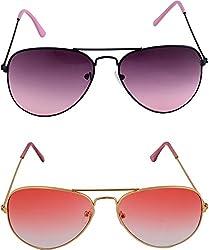 Shoaga Men's Aviator Sunglasses (Black)