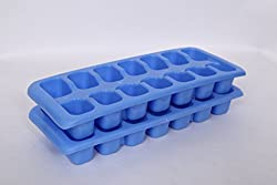 Guess Ice Tray -Ice Berg (Set OF 2 Pcs) - Blue