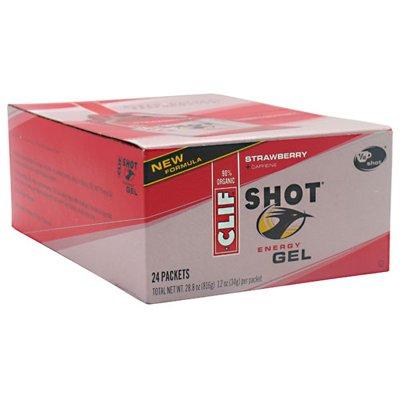 Clif Bar Clif Shot - Organic Strawberry - 1.2 Oz (Pack Of 24)
