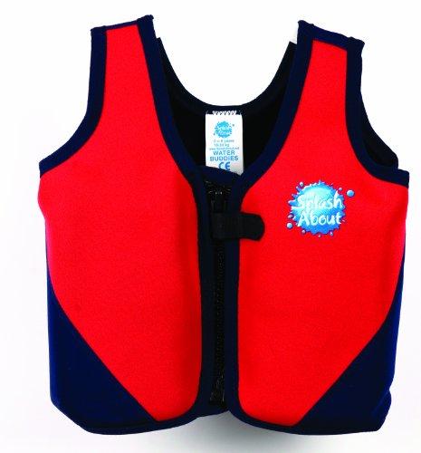 Splash About Childs Swim Vest Red/Navy front-822000