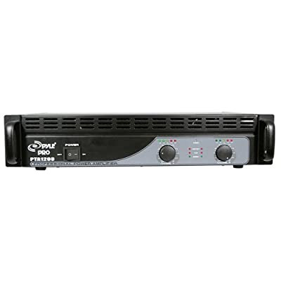 PYLE-PRO PTA1200 1200 Watts Professional Power Amplifier from Sound Around