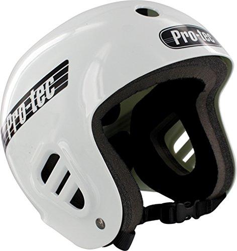 PRO-TEC Classic Full Cut Skate 2-Stage Liner White Large Skateboard Helmet