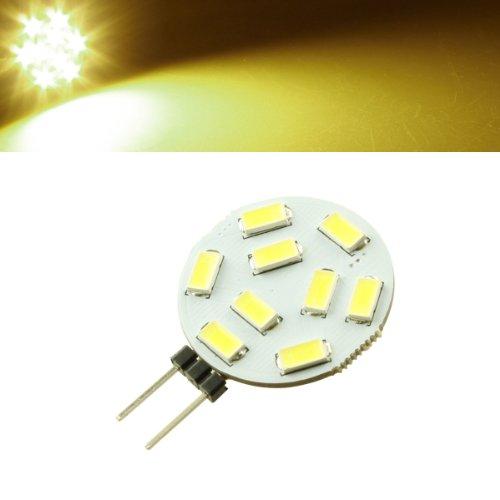 2X Dc 12V-24V G4 Led Light 9Smd 5730 200Lm Warmwhite Home Car Bulbs