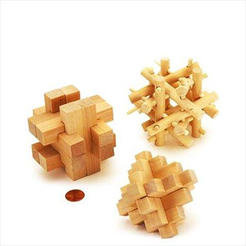 Cardinal 79100 Brain Benders 3D Wood Puzzle - 1