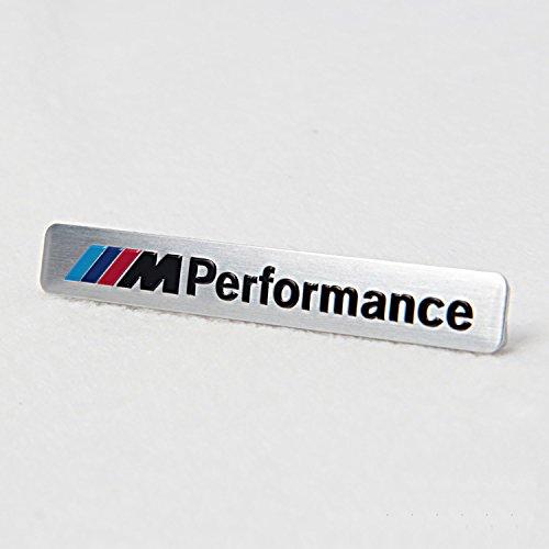 STEMMA BMW M PERFORMANCE-1 ARGENTO, 3, 5, 6, 7 M-TECH M3 M5 X3 X5 M SPORT M