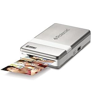 Polaroid インスタントモバイルプリンター PoGo シルバー CZJ-10011BA