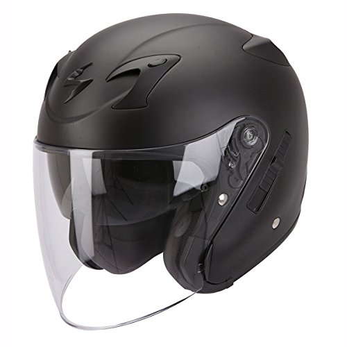 Scorpion - Motorcycle helmets - Scorpion EXO-220 Black Mat - S