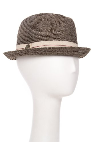 Goorin Bros. Unisex Humphrey A-Crown Crushable Straw Fedora Hat