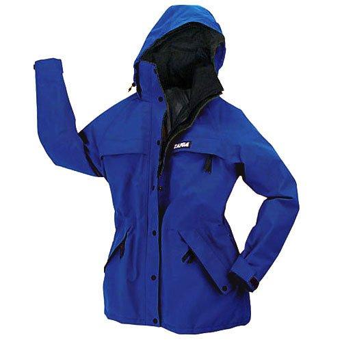 TAIGA Women's Chamonix Gore-Tex Raincoat Jacket, Navy Blue, MADE IN CANADA