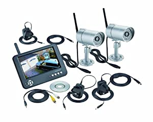 Friedland CWFK4D Heavy Duty Digital Wireless Colour CCTV and Monitor Kit