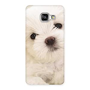 Special Cute Pup White Back Case Cover for Galaxy A3 2016