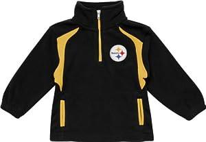 Pittsburgh Steelers Toddler Post Game Quarter-Zip Fleece Jacket