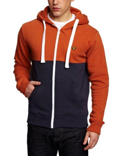 Le Breve Joker Men's Sweatshirt Orange/Navy Large