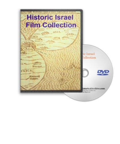 Historic Israel On Dvd - 1930S-50S Culture, History And War - Including The Arab-Israel War, The Six Day War, Footage Of Jerusalem, Damascus And Palestine And Hadassa Vocational Training