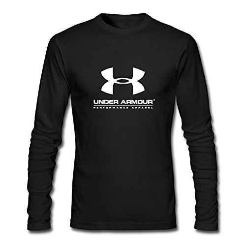 DIY Under Armour Logo For 2016 Mens Printed Long Sleeve tops t shirts