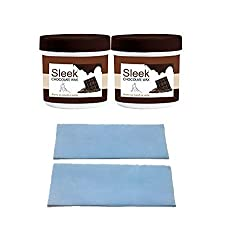 Sleek Chocolate Wax-RemovePack of 2(Each 250g) with wax strips(45 Nos)