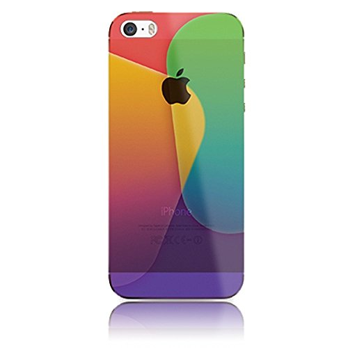 Sunroyal® iPhone 6 Plus/6S Plus Creative Colorful Design Soft Case(5.5inches) Lightweight Crystal TPU Silicone Hybrid Bumper Back Cover+Purple Metal Touchscreen Pen+HD Super Clear Screen Protector (Crystal Ice Weight compare prices)