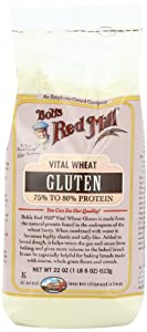 Bob's Red Mill Gluten Flour, 22-Ounce Packages (Pack of 4)
