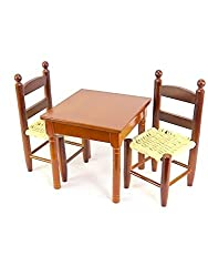 18 Inch Doll Clothes | Wooden Table And Chairs | Fits 18