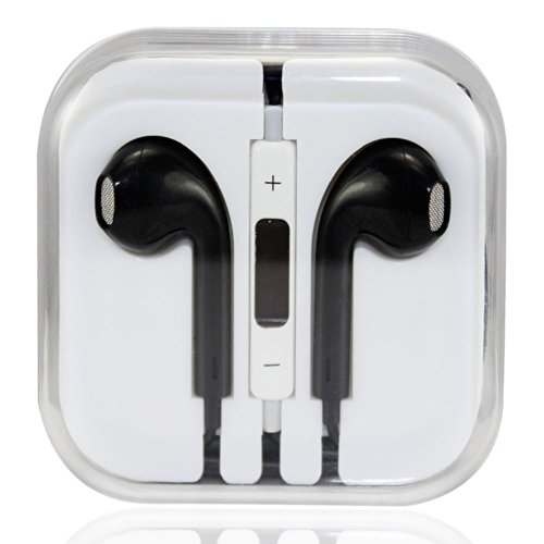 Bestbuygoods Musicell Noise Cancelling In-Ear Stereo Earphone Headset With Remote Mic For Iphone 5S 5C 5 4S 4,Ipad 2 3 4 5,Ipad Air,Ipad Mini 2 1 Retina,Samsung Galaxy S5 S4 S3 S2,Galaxy Note 3 2 1,Htc One M8,Galaxy Tab Tabpro Note 7 8 10.1 12.2,Nokia Lum