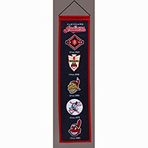 Cleveland Indians MLB Heritage Banner (8x32) by Winning Streak