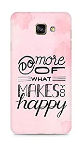 AMEZ do more of what makes you happy Back Cover For Samsung Galaxy A7 (2016 EDITION)