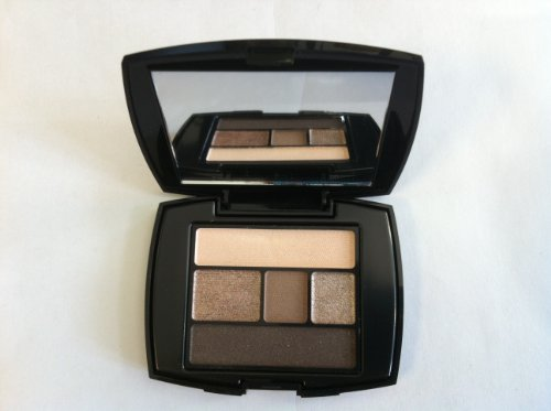 Lancome Color Design Palette Illuminatrice Du Regard 4 Ombres & Liner-en-un Eye Brightening All-in-one 5 Shadow &Liner Palette 100 Taupe Craze 0.07oz/2g