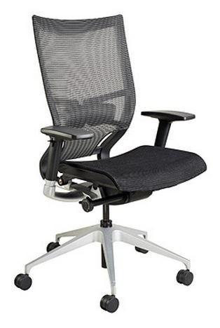 Eurotech Nuvo NUV1 Mid Back Mesh Office Chair