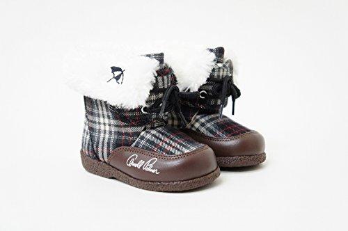 アーノルドパーマー お子様 キッズ ブーツ/ファー ボア ap7140 (14.0cm, ブラック)