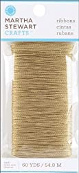 Martha Stewart Crafts Doily Lace Gold Thread