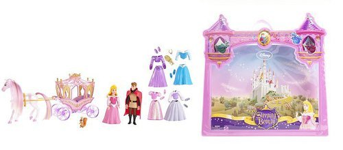 Buy Low Price Mattel Disney Princess Favorite Moments Deluxe Gift Set – Sleeping Beauty and Prince Phillip Figure (B001RSUI2O)