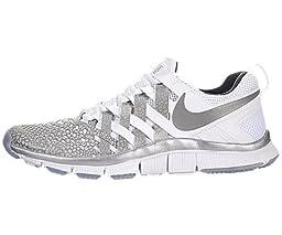 Nike Free Trainer 5.0 NRG - White / Reflect Silver-Dark Grey, 8 D US