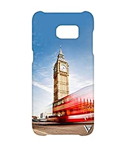 Vogueshell Clock Tower Printed Symmetry PRO Series Hard Back Case for Samsung s7 Edge