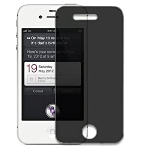 iphone 4s privacy screen protector reviews