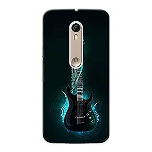 Inkif Printed Designer Case Mobile Back Cover For Motorola Moto X Style