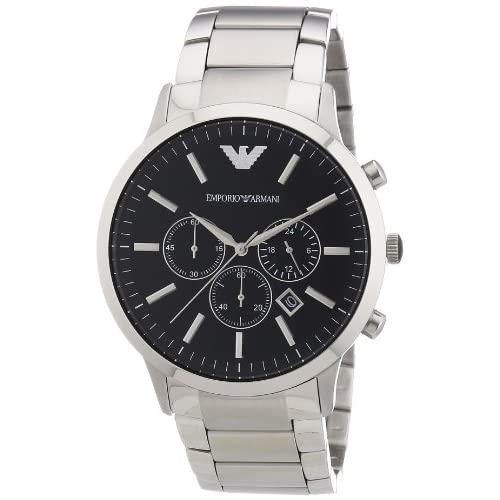 Emporio Armani Men's Quartz Watch AR2460 AR2460 with Metal Strap