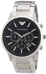 Emporio Armani Men's Quartz Watch AR2460 AR2460 with Metal Strap