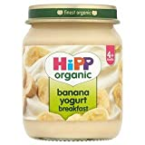 HiPP Organic Banana Yogurt Breakfast 4+ Mths 125G