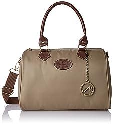 Alessia74 Women's Handbag (Beige) (TY023E)