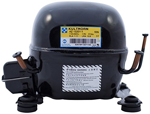 Kulthorn AZ A1320Y-1 Fractional HP Compressor, Small, Black (Refrigerator Motor Compressor compare prices)