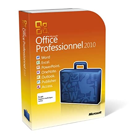 Office professionnel 2010, 2 postes