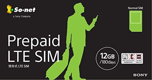 Prepaid LTE SIM プラン12G  標準SIM版