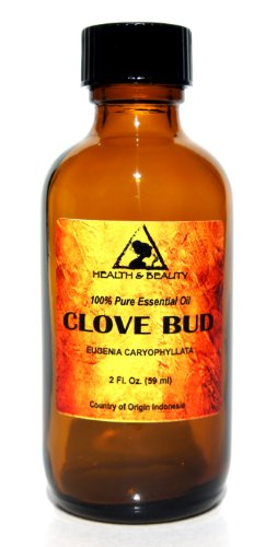 Clove Bud Essential Oil Aromatherapy 100% Pure 2 oz, 59 ml