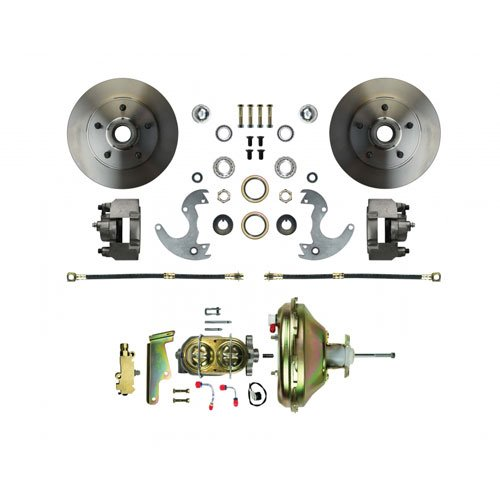 The Right Stuff Detailing AFXDC14 Disc Brake Conversion Kit for wheels. A/F/X body vehicles. Booster, Master Cylinder and Valve included. (Pontiac Stuff compare prices)